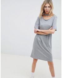 Cheap Monday - Belong Neck Strap Shift Dress - Lyst