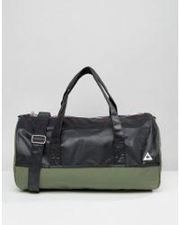 Le Coq Sportif - Khaki Weekend Barrel Bag - Lyst