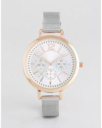 New Look - Mesh Watch - Lyst