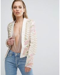 A Star Is Born - Embroidered Trophy Jacket - Lyst