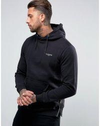 Illusive London - Logo Hoodie In Regular Fit - Lyst