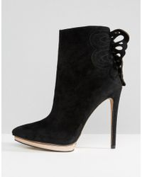 Forever Unique - Minosa Heeled Boot - Lyst