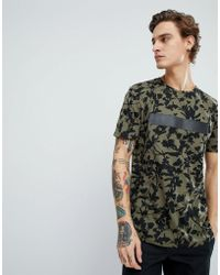 Dr. Denim - Patrick Green Flower Dash T-shirt - Lyst