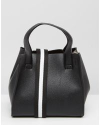 Pull&Bear - Mini Tote Bag With Sports Strap - Lyst