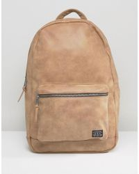 New Look - Backpack In Tan - Lyst