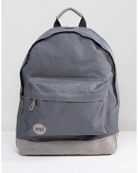 Mi-Pac - Mi Pac Classic Backpack Grey - Lyst