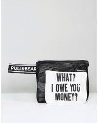 Pull&Bear | What I Owe You Bag | Lyst