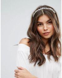 New Look - Flower Detail Headband - Lyst