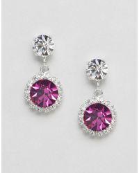 Krystal - London Swarovski Crystal Rosetta Drop Earrings - Lyst