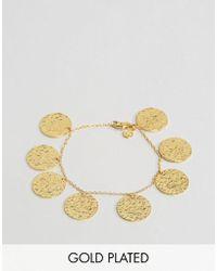 Gorjana - Gold Plated Coin Bracelet - Lyst