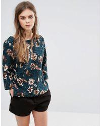 Oeuvre - Oeurve Off Shoulder Floral Top - Lyst