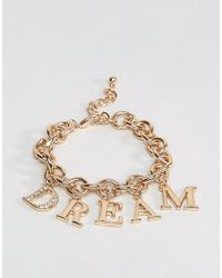 New Look - 90's Dream Chain Bracelet - Lyst