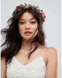 Rock N Rose - Rock N Rose Hand Made Nancy Dried Flower Crown - Lyst