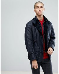Barbour - Connel Jacket In Navy - Lyst