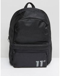 11 Degrees - Backpack In Black - Lyst