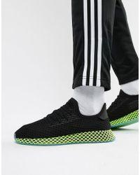 Adidas Originals La Trainer Og Trainers In Black S79944 in Black for ... a5fedb45c