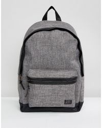 New Look - Backpack In Grey Chambray - Lyst