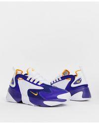Nike Zoom 2k Sneakers In Blue