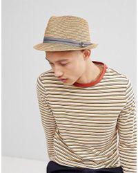 Goorin Bros - Keep It Real Straw Trilby Hat - Lyst