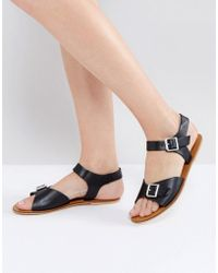 Warehouse - Double Buckle Sandal - Lyst
