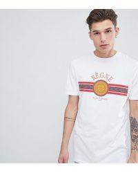 ASOS - Tall T-shirt With Regne Emblem Print - Lyst