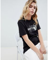 The North Face - Easy T-shirt In Black - Lyst