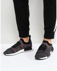 f9e1c2bf1356e adidas Originals - Nmd R1 Stlt Trainers In Black Cq2386 - Lyst