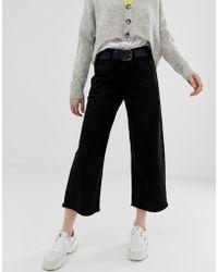 Daisy Street - Wide Leg Skater Jeans - Lyst