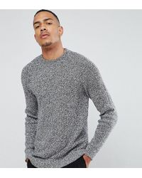 SELECTED - Knitted Sweater With High Neck - Lyst
