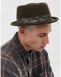 ffbfa0fa ASOS Festival Reversible Bucket Hat In Vintage Festival Print for ...