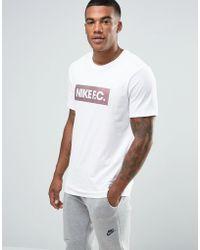 nike roshe run style - Nike Futura T-shirt In White 696707-103 in White for Men | Lyst