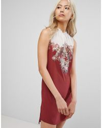 AllSaints - Jay Clement Dress In Silk - Lyst