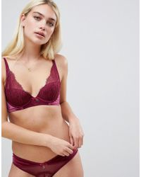 Ted Baker - B By Bold Lace Plunge Bra - Lyst