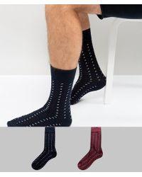 SELECTED - Socks In 2 Pack - Lyst