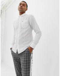 Tommy Hilfiger - Linen Slim Fit Shirt - Lyst