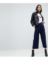 ASOS - Tailored Longer Length Culottes - Lyst