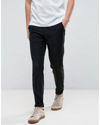 Casual Friday - Slim Fit Trousers - Lyst