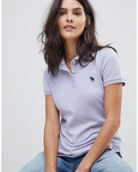 Abercrombie & Fitch - Classic Polo Shirt - Lyst