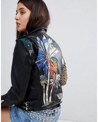 Blank NYC - Painted Biker Jacket - Lyst