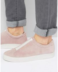 Religion - Gusset Suede Trainers - Lyst