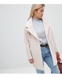 d9cd8cc6f2d4 ASOS Asos Oversized Knitted Coat In Wool Blend With Shawl Collar in ...