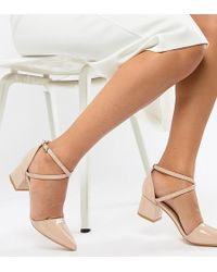 Truffle Collection - Pointed Mid Heels - Lyst