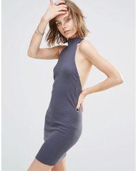 First & I - Halterneck Dress - Lyst