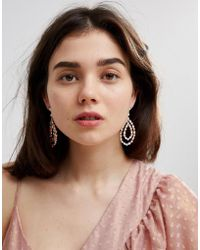 ALDO - Teardrop Chandelier Earrings - Lyst