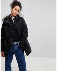 The North Face - Brooklin Parka In Black - Lyst