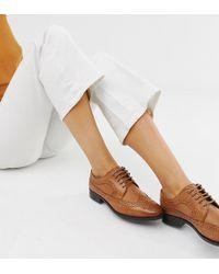 500a09ede82 ASOS - Zapatos Oxford de cuero de ancho especial Mai Tai de - Lyst