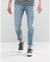 Loyalty & Faith - Loyalty And Faith Pillar Slim Stretch Jeans In Light Wash - Lyst