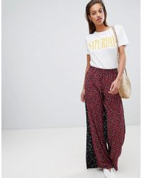 French Connection - Culottes In Obine Floral - Lyst