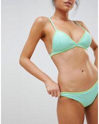 Glamorous - Stitch Detail Bikini Bottom - Lyst