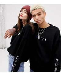 ASOS - X Glaad& Oversized Sweatshirt With Spirit Day Embroidery - Lyst